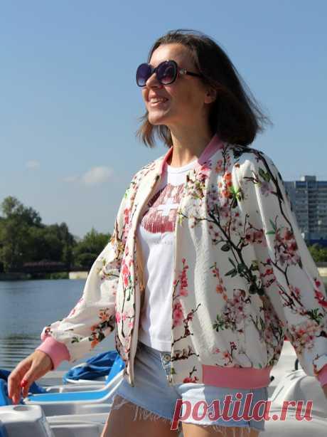 Как сшить куртку-бомбер — Мастер-классы на BurdaStyle.ru