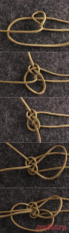Инструкция в картинках по завязыванию бриллиантового узла