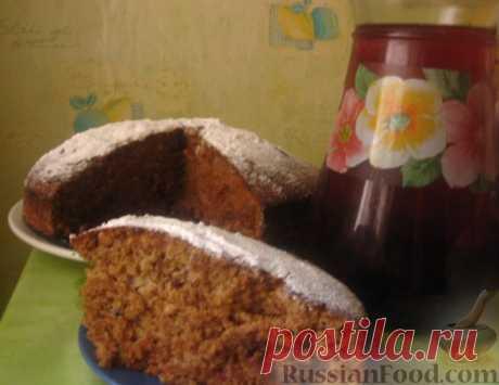 Рецепт: Постный пирог с чаем