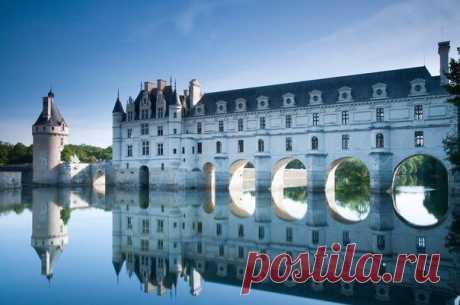 7 французских замков, от которых невозможно оторвать взгляд
