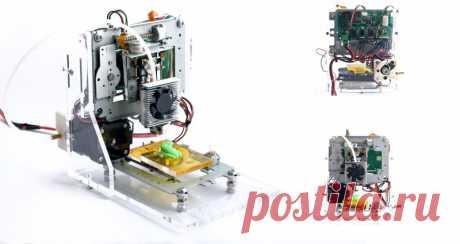 3D la impresora por las manos — la parte 1
