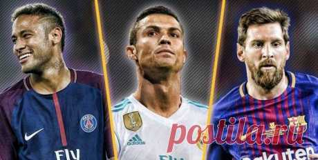 Самые высокооплачиваемые футболисты мира на 2020 год.