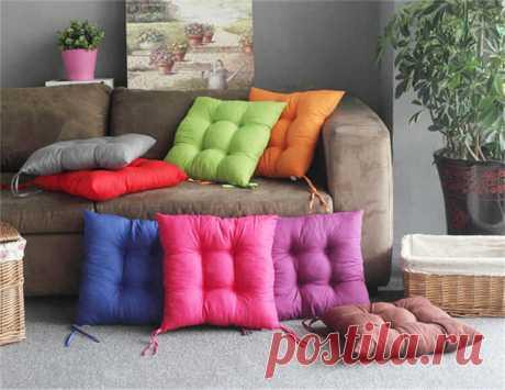 Как сшить подушку своими руками: декоративную, диванную, буквы Как сшить подушку своими руками - на диван, декоративную, как сделать буквы-подушки. Как сшить наволочку на подушку на молнии, на пуговицах, с клапаном
