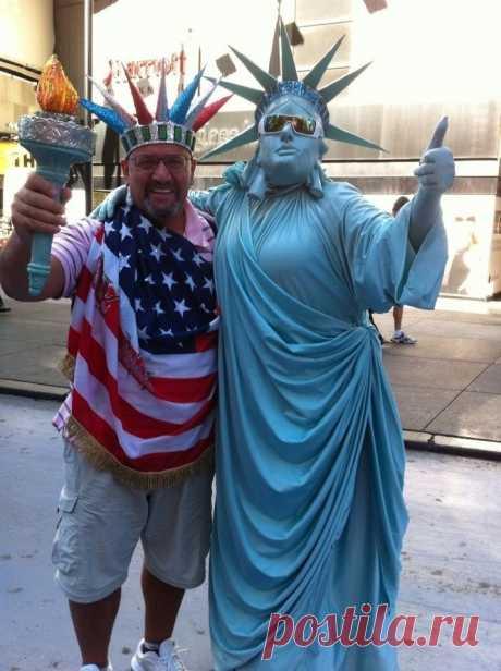 На Бродвее я стал американцем.