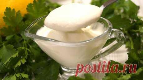 La gasolinera universal para las ensaladas en vez de la mayonesa, por gusto como la mayonesa - las recetas Simples Овкусе.ру