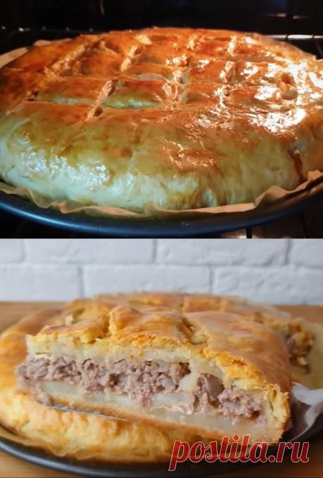 Любимый пирог моей бабушки: просто, быстро, вкусно и сытно. Главный секрет таится в тесте | Хитрости жизни