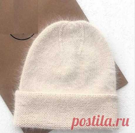 Шапка из пуха норки с новой макушкой. Описание вязания макушки | Knittingtrend | Яндекс Дзен
