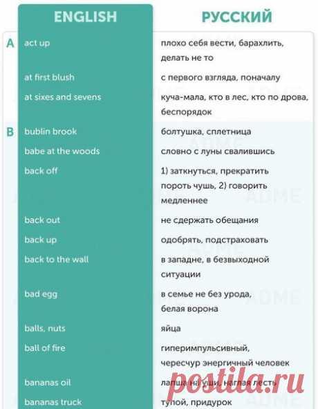 150 выражений из английского сленга 👌 / Неформальный Английский