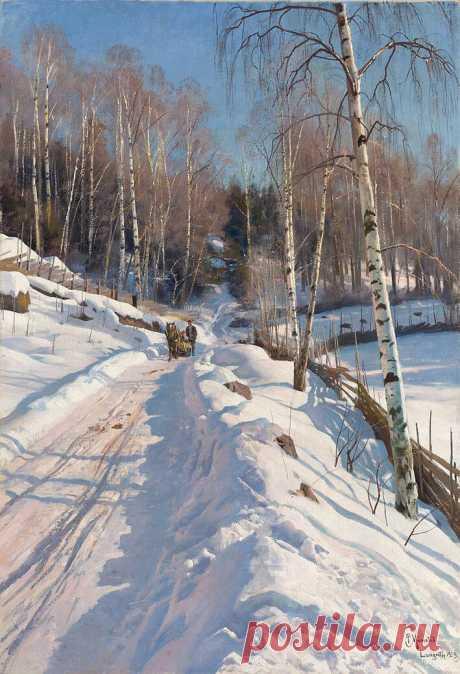 Фотографическая живопись: совершенный пейзаж П.Мёнстеда | Творчество для души | Яндекс Дзен
