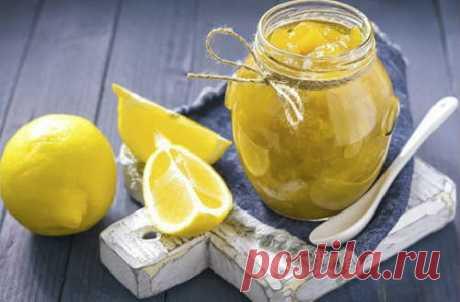 Варенье из лимона с кожурой: рецепт с фото