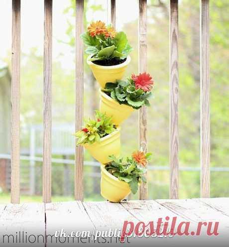 Вертикальный сад на балконе / Цветы / ВТОРАЯ УЛИЦА