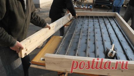 Как сделать недорогой солнечный коллектор своими руками   6 соток