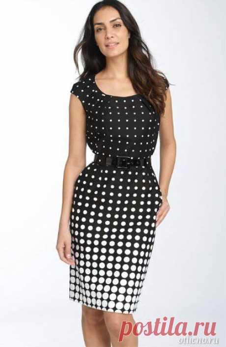 Como coser el vestido directo simple elegante, el patrón del vestido simple | otlicno.ru