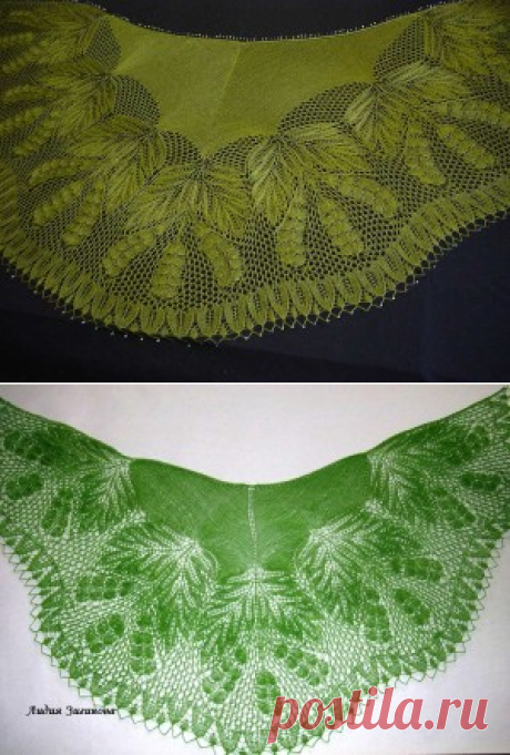 """Шаль """"Ландыши"""" • ШАЛЬное увлечение • Форумы Darievna.ru: вышивка, вязание, готовим вместе и многое другое своими руками"""