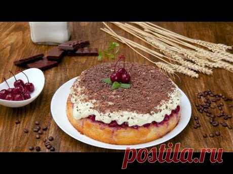 Пирог с вишнями «Наслаждение» - Рецепты от Со Вкусом