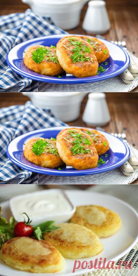Картофельные пампушки с творогом — Вкусные рецепты