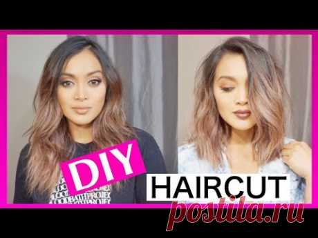HOW TO CUT YOUR OWN HAIR || SHORT AND STRAIGHT