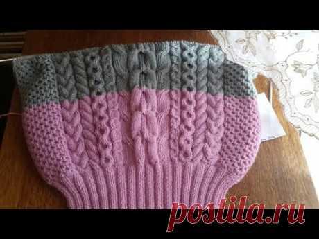 Очень подробный Мастер- Класс на свитер от РУБАН (RUBAN)
