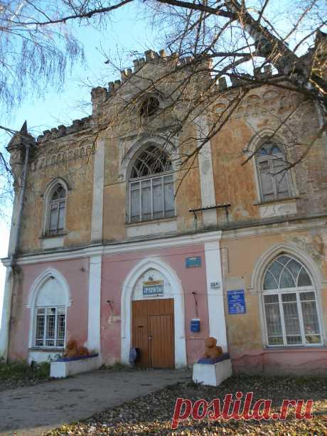 Усадьба Полторацких в калужской области.