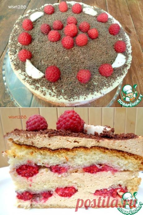 Торт «Малиновая радость» – кулинарный рецепт