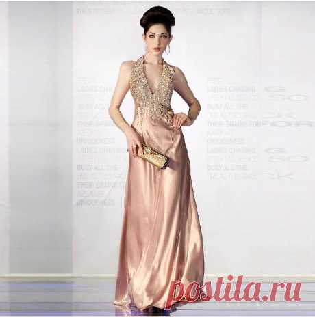 Вечернее платье  Арт № Sdk 08 Размер: S,  M,  L,  XL Ткань: атлас, шелк