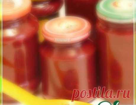 """Соус """"Ткемали"""" от Нели – кулинарный рецепт"""