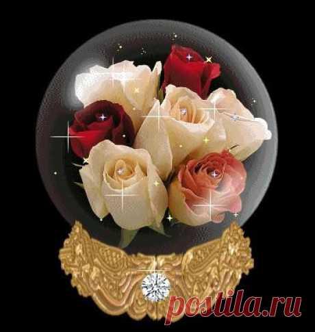 Александр Поздин - Сообщения Букет из роз...Живительная благость... Такой принять из рук любимого - мечта... В душе тихонько притаилась жалость - Изъять такой букет с холста - нельзя...