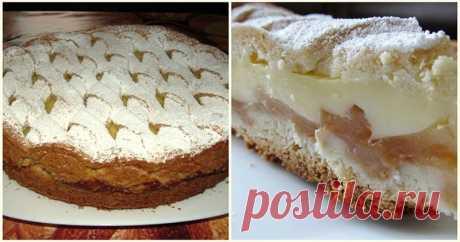 Пирог с яблоками - аппетитная замена простой шарлотке