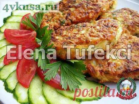 «Кабачковые драники» с сыром | 4vkusa.ru
