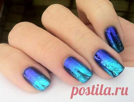 Nail Art For Beginners 2016: How To Do Transfer Foil Nail Art