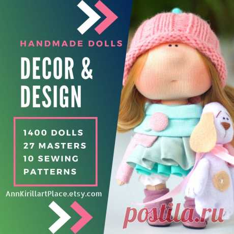 Beautiful Baby Doll Handmade Tilda Doll Interior Decor Doll | Etsy