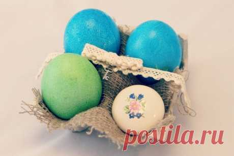 10 способов красиво подарить пасхальные яйца | oblacco
