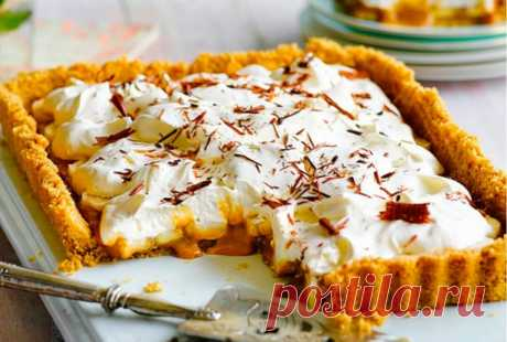 Рецепт пирога-биноффи — Фактор Вкуса