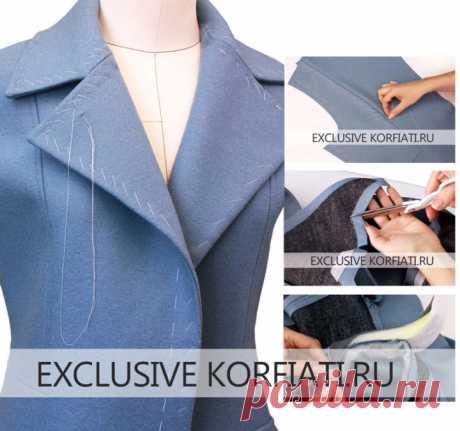 Мастер-класс по пошиву пальто от Анастасии Корфиати