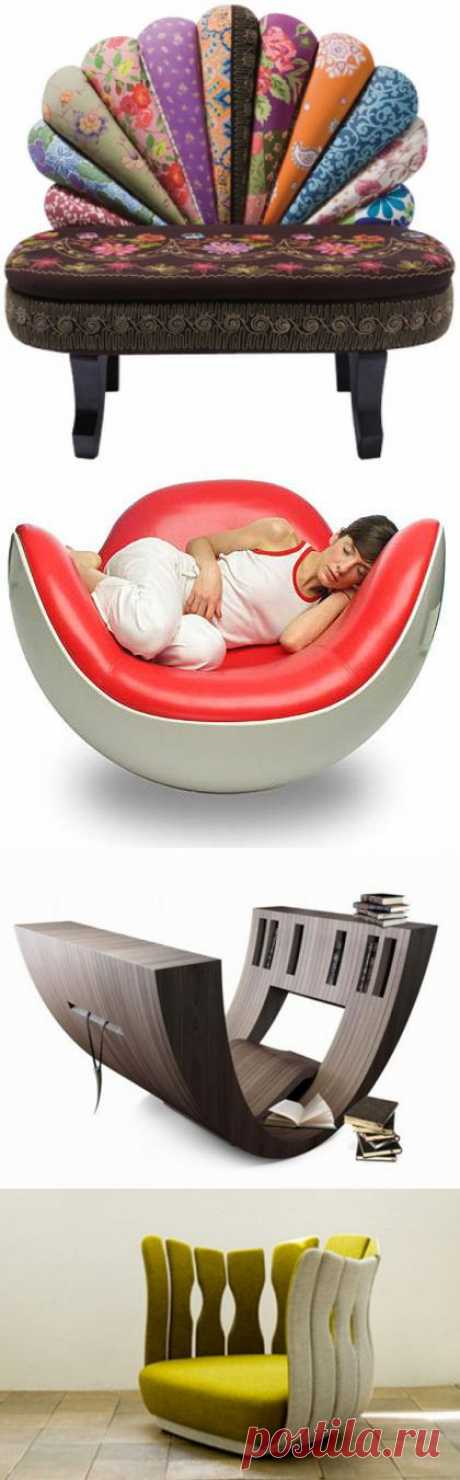 Изюминка в интерьере: необычные кресла для дома | Роскошь и уют