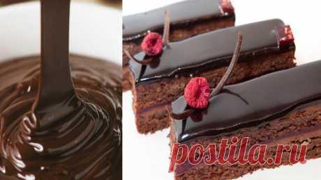 Шоколадно-кавова глазур для тортів. Рецепт, яким користуюся багато роківстуюся багато років | Сім'я і дім Така глазур швидко застигає на тортах, просто за руками! І смачна дуже, бо крім какао, у ній ще й кава!
