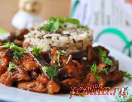 Мясо с баклажанами – кулинарный рецепт