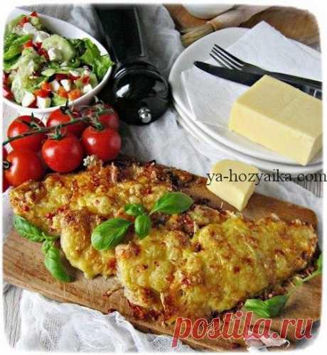 Куриное филе в кляре Отличная идея для куриных отбивных, поможет в приготовлении вкусного ужина. Для 3-х порций понадобится: Одно двойное (примерно 650г) куриного филе Соль, перец — по вкусу [...]