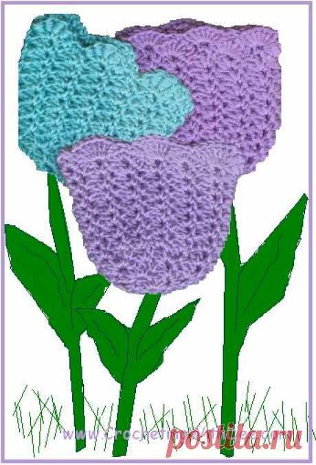 Кепка Tulip Preemie - CrochetWithDee.com