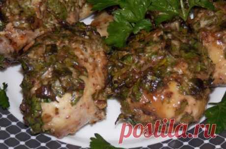 Курица в ореховом соусе «Изыск»