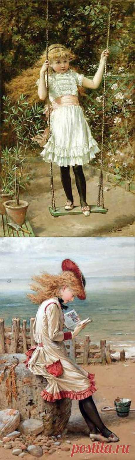 Дети. Художник William Stephen Coleman - Галерея искусств - Для души - Статьи - Школа радости