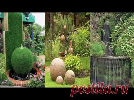 Роскошные идеи для декорирования двора и сада
