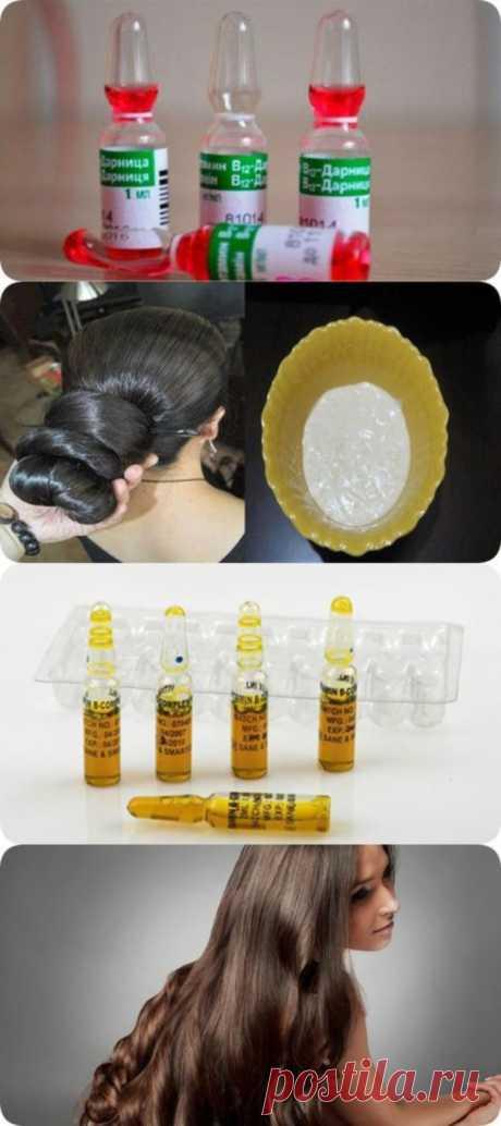 Вот эти аптечные ампулы остановят выпадение волос - 101MIRCHUDES