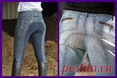 8 способов ремонта джинс между ног вручную и на швейной машине.   Vasha Economka   Яндекс Дзен