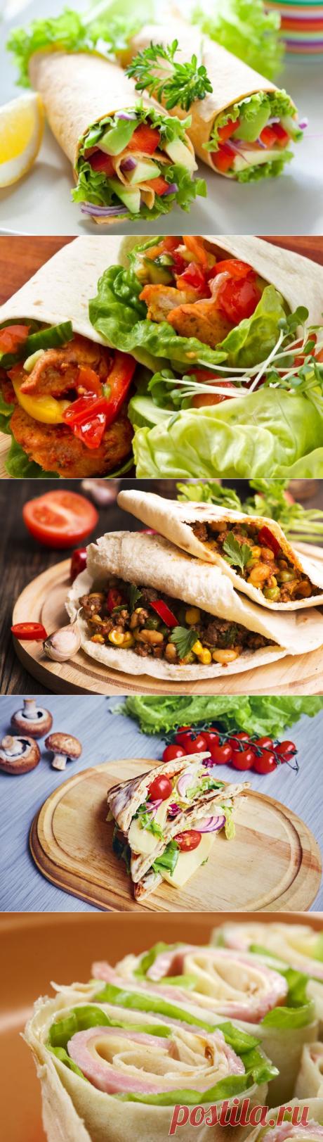 5 блюд из лаваша для быстрого ужина