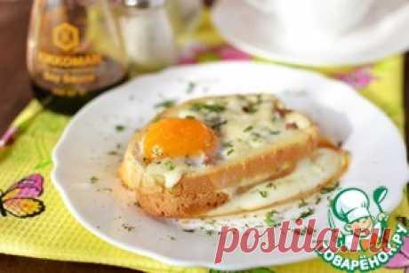 Горячий бутерброд с фаршем - кулинарный рецепт
