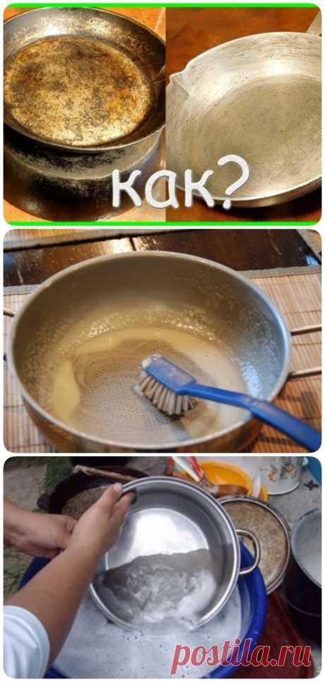 Даже старые бабушкины сковородки сверкают чистотой! Лучшее средство! - interesno.win