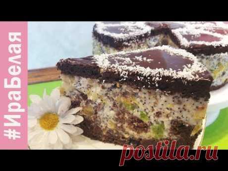 СУПЕР ШОКОЛАДНЫЙ ТОРТ АФРИКАНСКАЯ РОМАШКА, красивый и вкусный торт на Новый Год! | Irina Belaja