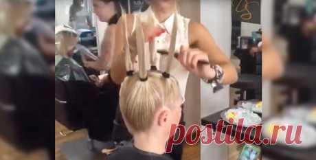 Стрижка для объёма волос