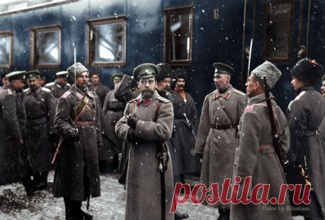 Как Николай II описывал в своих дневниках крах Российской Империи   История России   Яндекс Дзен